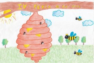 El trabajo de las abejas